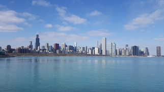 Chicago's impressive skyline.